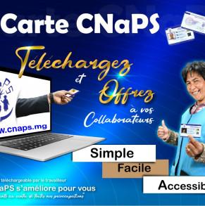 Comment télécharger la carte CNaPS ?